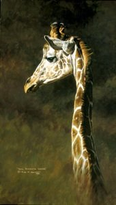 Original Paintings of Giraffes
