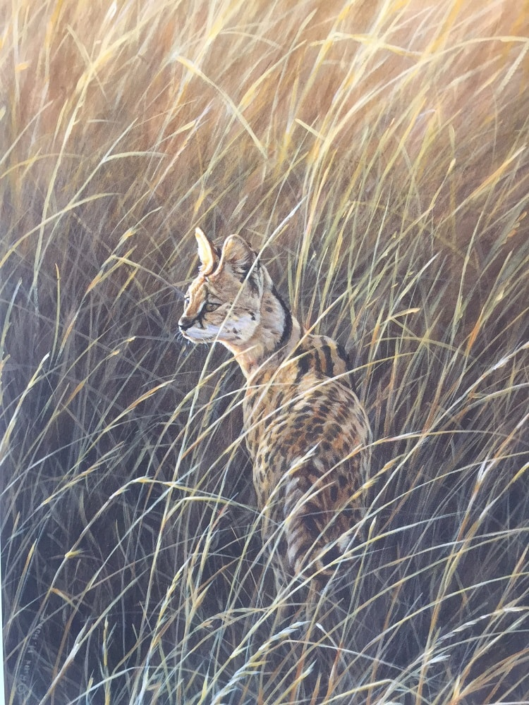 Serval Painting