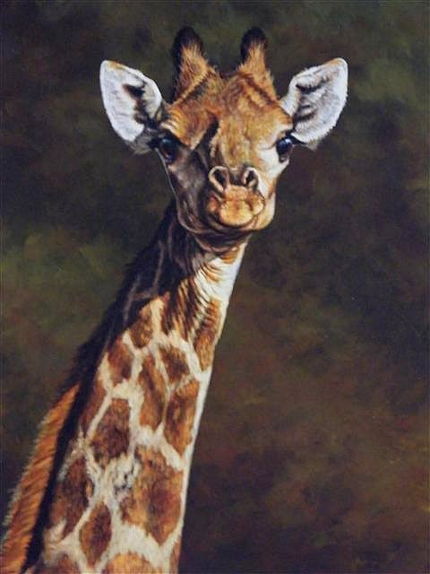 Paintings of Giraffes