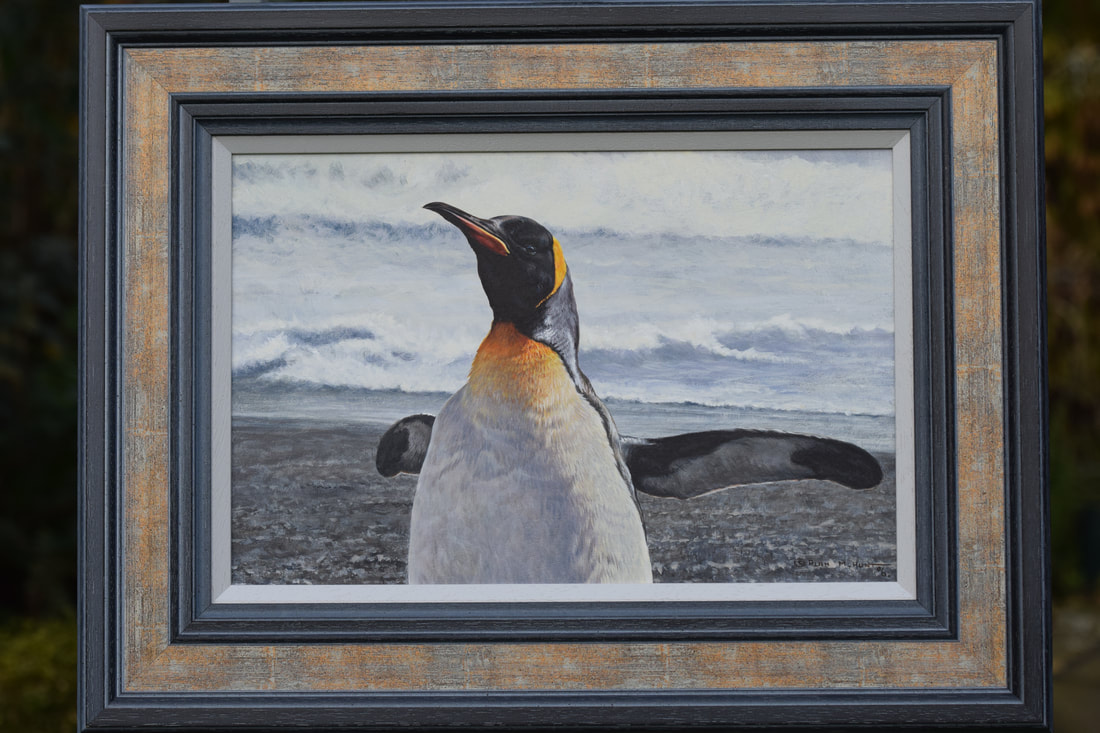 Original King Penguin Painting