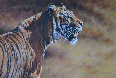 Tiger paintings for sale